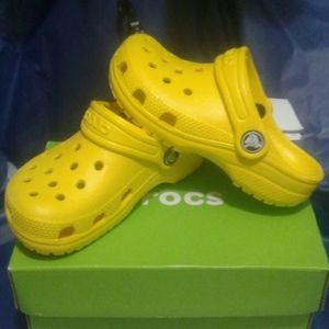 Crocs Classic Clog Sunshine Yellow